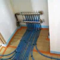 Collecteur pour plancher chauffant