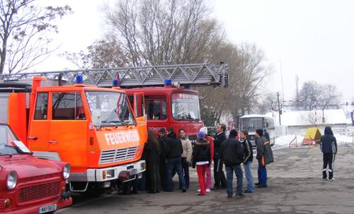 Ziua Porţilor Deschise la pompieri