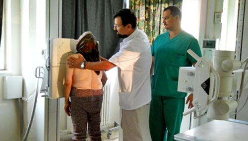 Aparat Roentgen nou pentru Radiologia Spitalului Judeţean