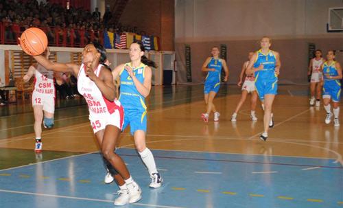 Satu Mare, gazdă a finalei Cupei României la baschet feminin