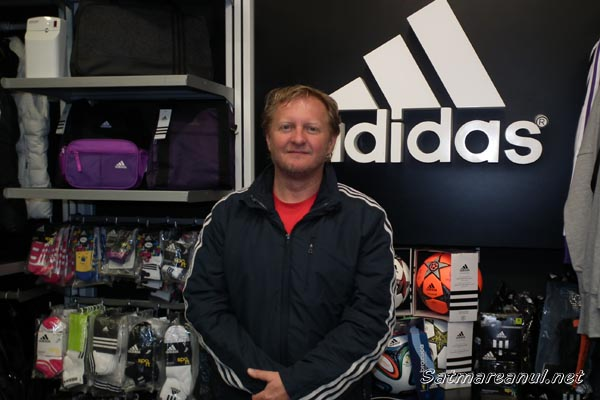 Manager de Satu Mare: Takács Zoltán – Adidas, Maxxo & Seven Sport