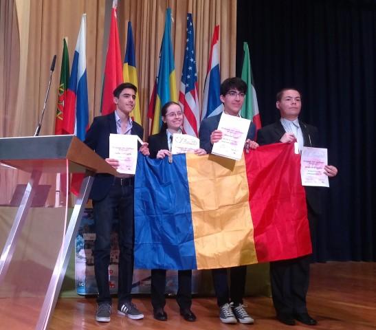Patru medalii pentru România, la Olimpiada Internaţională de Ştiinţe ale Pământului