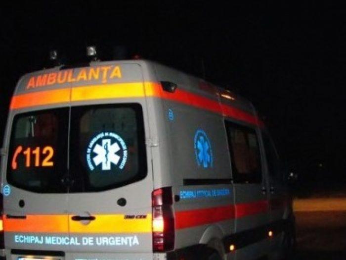 Bătrân accidentat grav în Racșa