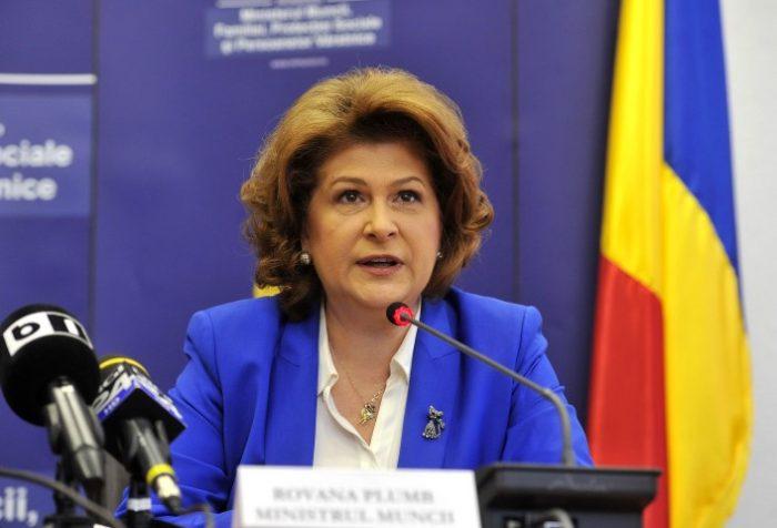 Rovana Plumb: Salariul minim pe economie va ajunge la 1.200 de lei în 2016