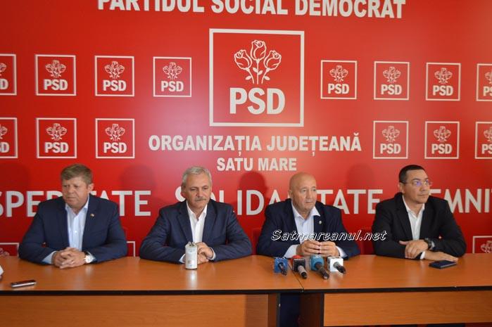Dragnea și Ponta siguri de victoria lui Dorel Coica