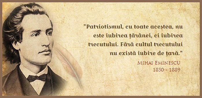Mihai Eminescu va fi comemorat la Negrești-Oaș