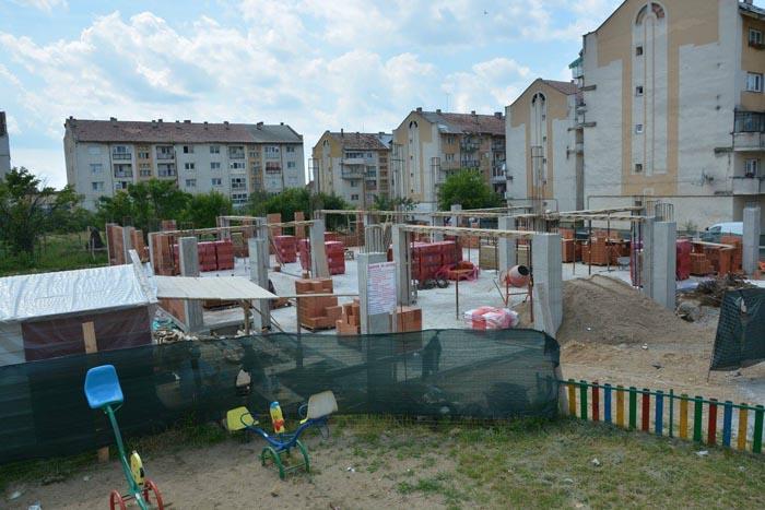 Negrești-Oaș: Au început lucrările la grădinița din Cartierul Decebal