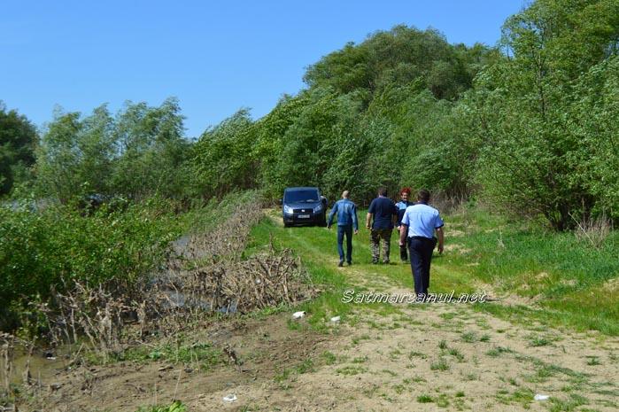 Cadavru descoperit în râul Someș