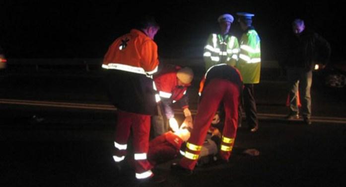 Accident teribil. Un tânăr a murit după ce s-a răsturnat cu mașina