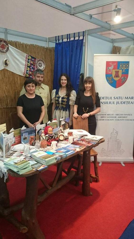 Municipiul Carei promovat la Târgul de Turism al României (Foto)
