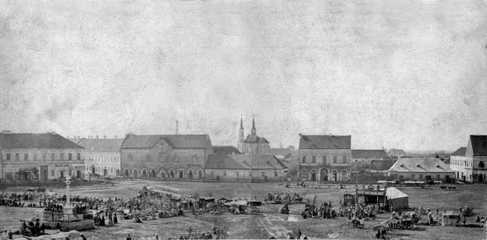 Cum arăta Centrul Vechi din Satu Mare, cu 100 de ani în urmă (Foto)