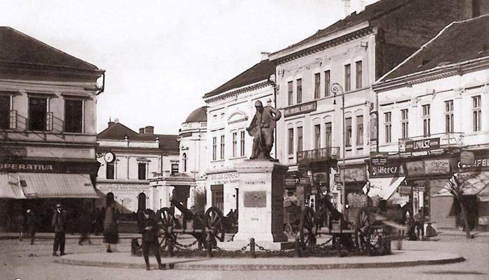 Unde era amplasată Statuia Eroului Necunoscut, cu 100 de ani în urmă (Foto)