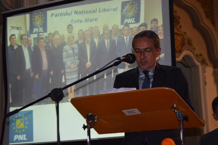 Adrian Albu, ales președinte al  PNL Satu Mare