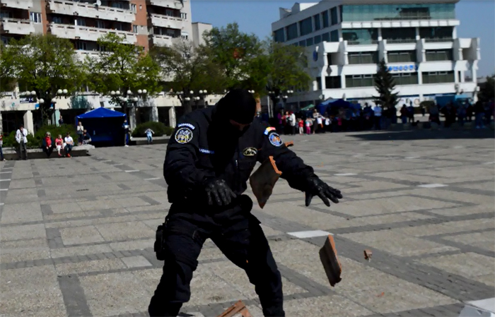 Demonstrații sportive și focuri de armă în Centrul Nou. Vezi detalii (Foto&video)