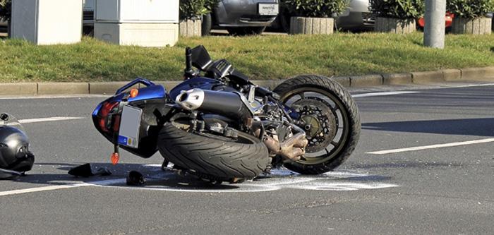 Accident pe Lucian Blaga. Un motociclist a fost rănit