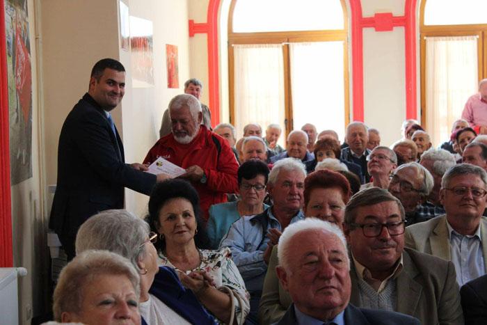 """""""Ziua Internațională a Vârstnicilor"""", marcată la PSD Satu Mare"""