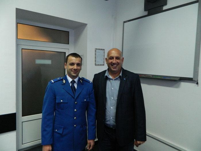 Purtător de cuvânt nou la Inspectoratul de Jandarmi Judeţean Satu Mare