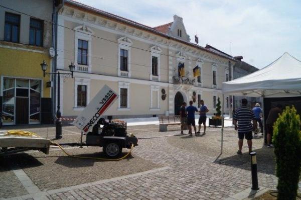 O primarie din judet, platou de filmare (Foto)