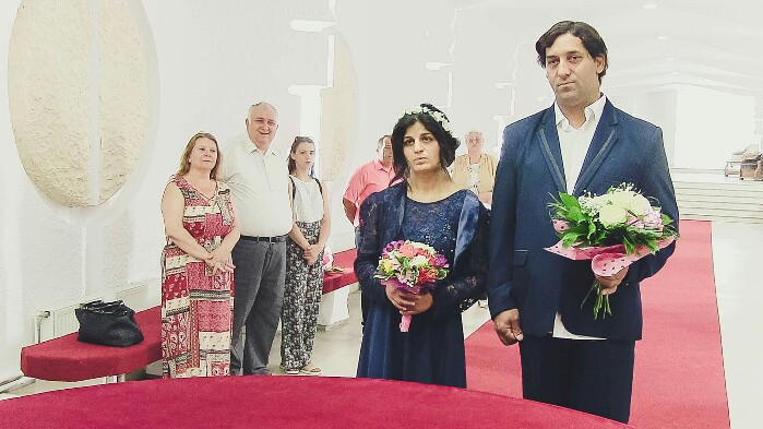 Casă de piatră ! Rudy – Omul TIR, s-a căsătorit (Foto)