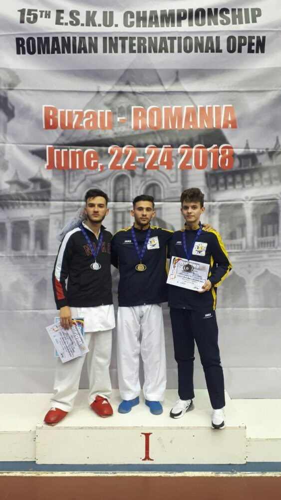 Un careian, campion european la kumite (Foto)