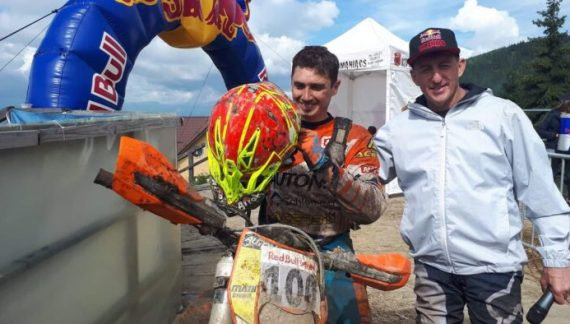 Mani Gyenes, locul II in prima zi la Red Bull Romaniacs 2018 (Foto)