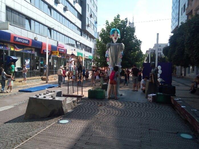 KaravanAct: Show pe piciroange in centrul Satmarului (Foto)