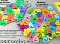 Topul județelor după gradul de independență față de București