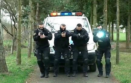 Acțiune în forță a trupelor speciale (Video)