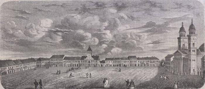 Parfum de epocă. Așa arăta centrul Sătmarului cu 150 de ani în urmă (Foto)