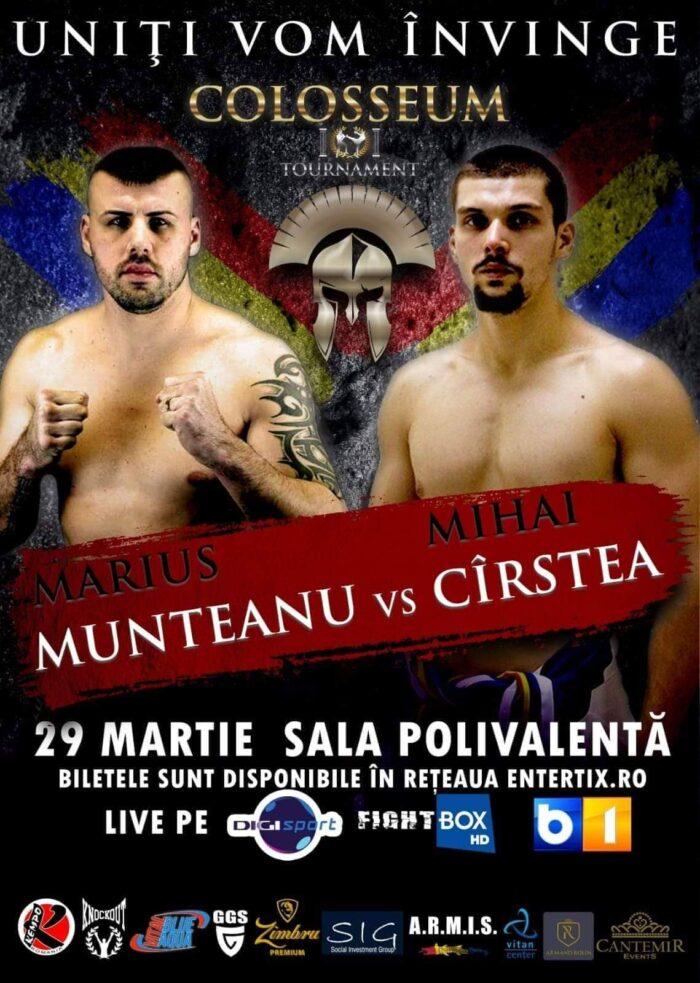 K1: Marius Munteanu din nou în ring