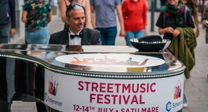 Șapte scene și cinci surprize puse la cale cu ocazia Street Music Festival Satu Mare (foto)