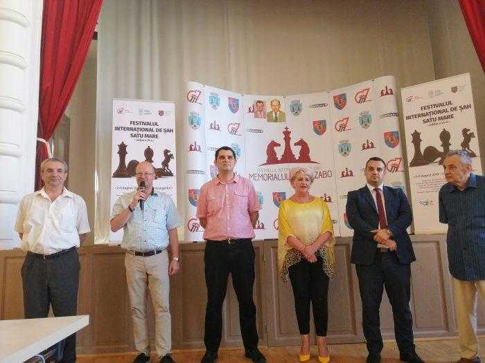 Satu Mare, capitală a sportului minții. A început FESTIVALUL INTERNAȚIONAL DE ȘAH 2019 (galerie foto-video)