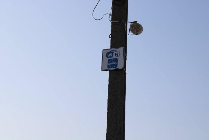 Prima localitate din județ cu Wi-Fi gratuit