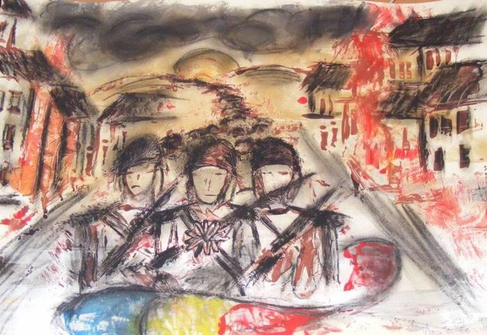 Concurs de desene cu ocazia Zilei Armatei