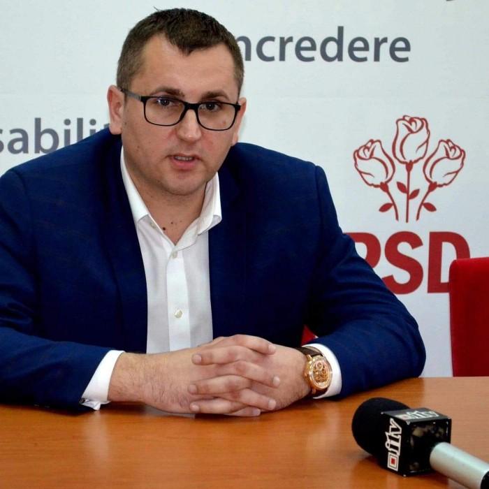 Ionuț Oneț este noul președinte interimar al PSD Satu Mare