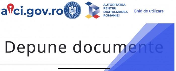 Guvernul lansează platforma aici.gov.ro