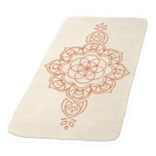 tapis de yoga en laine mandala