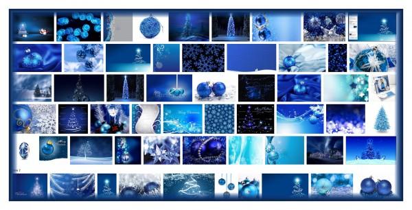 sininen joulu