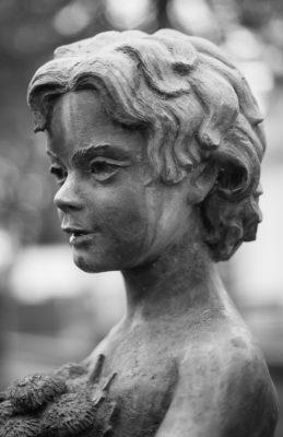 Hiljainen kaupunki - Tornion hautausmaalla_