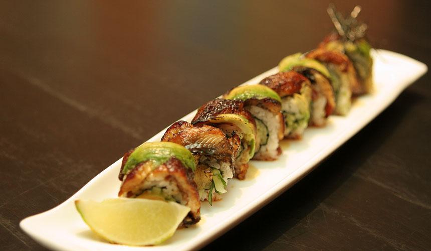 Fried Dragon Roll Dragon Roll –...