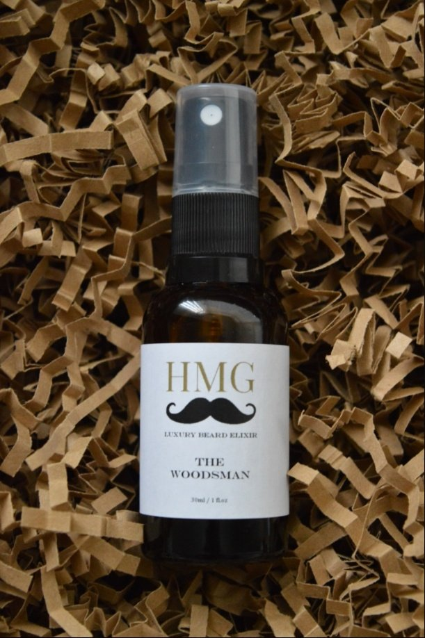 Heavy Metal Gentleman 'The Woodsman' Beard Oil