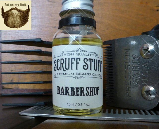 Review: Scruff Stuff 'Barbershop' Beard Oil