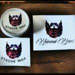 Universal Beard 'Cedar Cinnamon Roll' Moustache Wax