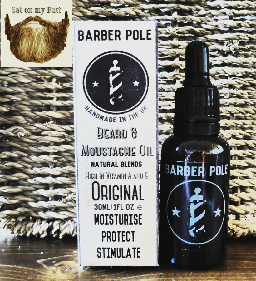 Barber Pole UK 'Original' Beard Oil