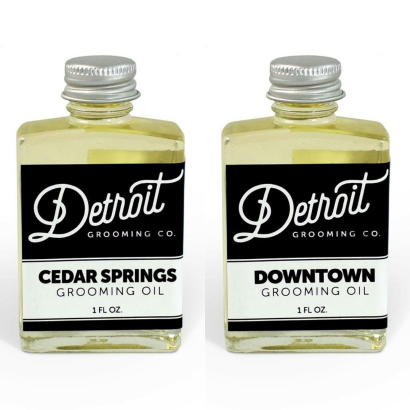 Detroit Grooming Co 'Cedar Springs' & 'Downtown' Beard Oils