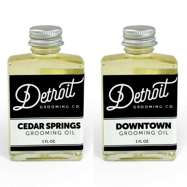 Review: Detroit Grooming Co 'Cedar Springs' & 'Downtown' Beard Oils