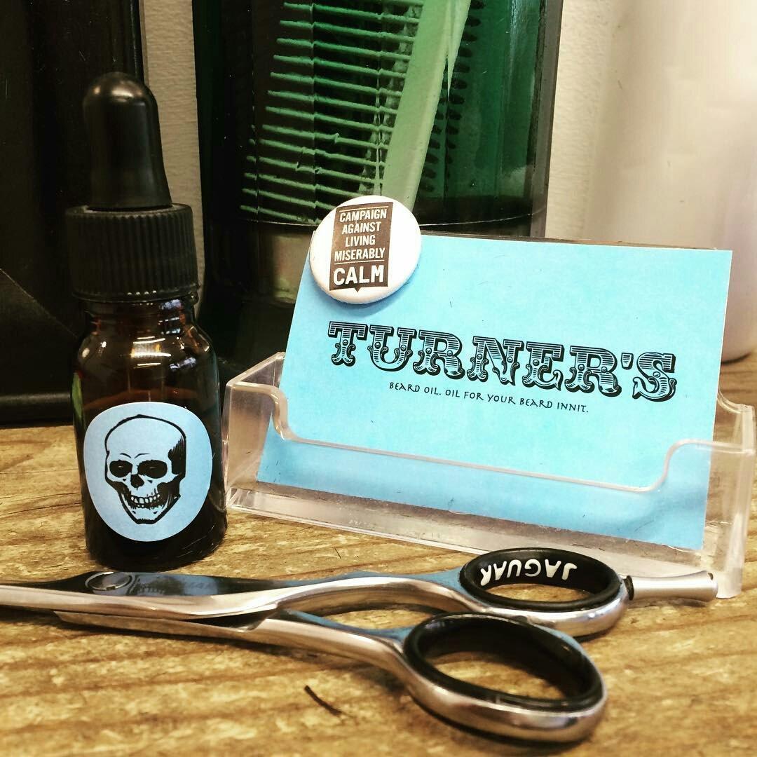 Turners beard oil