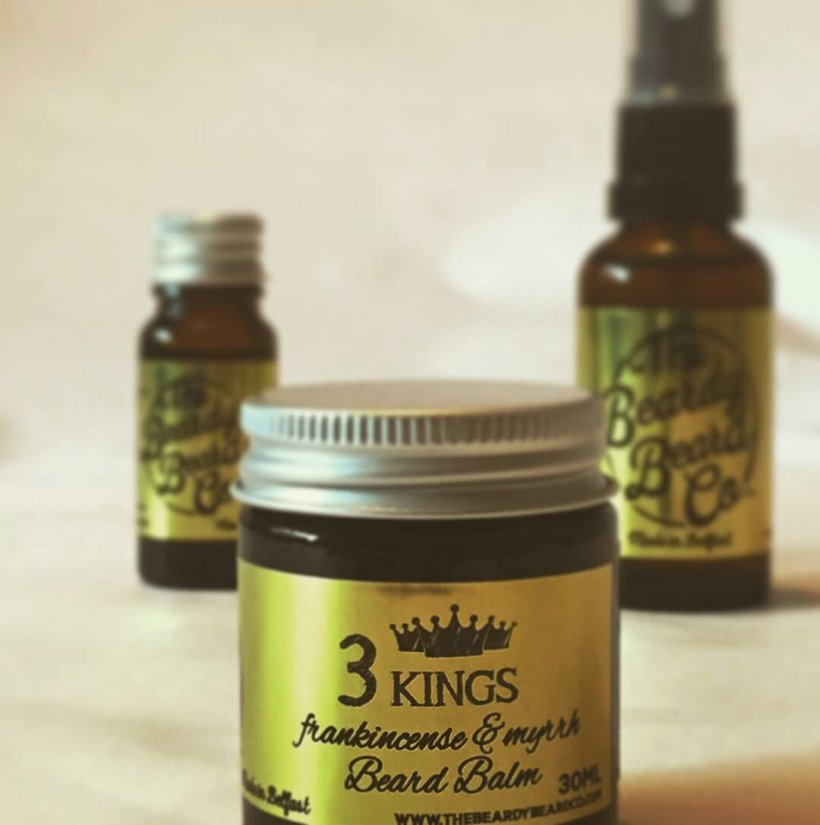 The Beardy Beard Company '3 Kings' Beard Balm