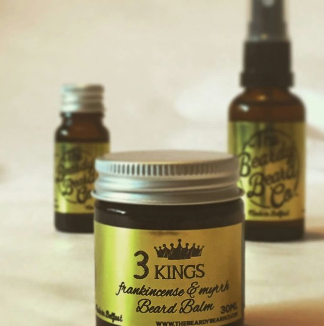 Review: The Beardy Beard Company '3 Kings' Beard Balm
