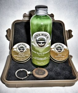Tactical Beard Oil kit